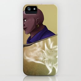 Kingsley Shacklebolt iPhone Case