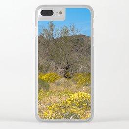 Super Bloom 7305 Paradise Joshua Tree Clear iPhone Case