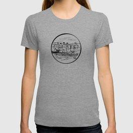 Wales castle T-shirt