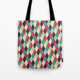 rhombus color 01 Tote Bag
