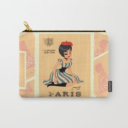 french girl  Carry-All Pouch