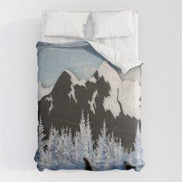 Cross Country Skiing Comforters
