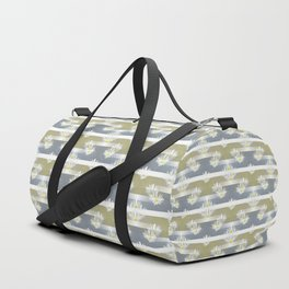 Mix of formal and modern with anemones and stripes 1 Duffle Bag