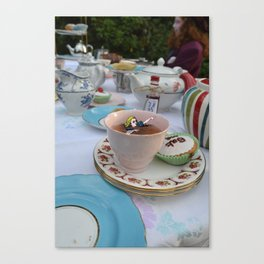 Alice - Teacup Canvas Print