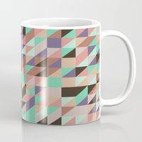 triangle Mugs featuring Triangle by Crazy Thoom