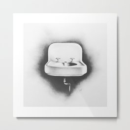 No Running Water Metal Print