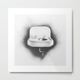 No Running Water Metal Print