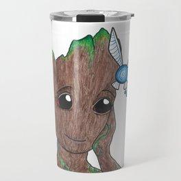 Tree and fairy Travel Mug