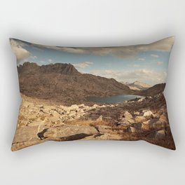 Wind River Mountains and Alpine Lake Rectangular Pillow