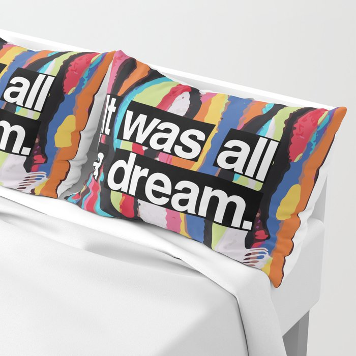 """It Was All A Dream"" Biggie Smalls Inspired Hip Hop Design Kissenbezug"