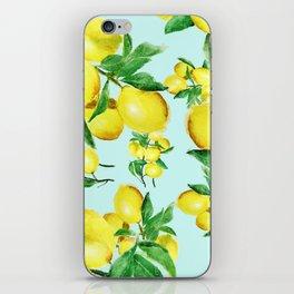 lemon 2 iPhone Skin