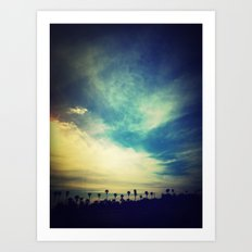 Sun_day Art Print