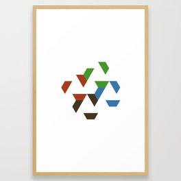 #547 Spread – Geometry Daily Framed Art Print