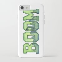 seahawks iPhone & iPod Cases featuring Legion of Boom Seattle 12th Man Art by Olechka