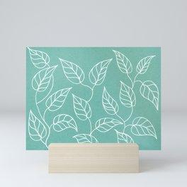 Spring leaves Mini Art Print