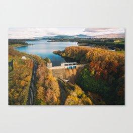 Poulaphouca Hydro Station Wicklow Ireland Canvas Print
