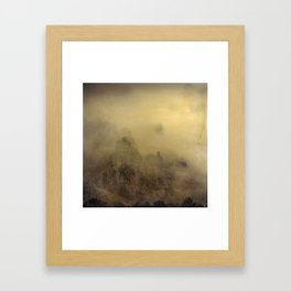 Flying With You... Hand Painted Photograph Framed Art Print