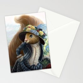 Emily Peanut Butterfield Stationery Cards