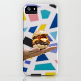 Trippy Burger iPhone Case