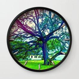 Southern Live Oak Wall Clock
