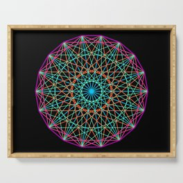 Sacred geometry Serving Tray