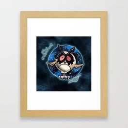 163-hoothoot Framed Art Print