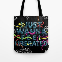 STRETCH OUR HANDS Tote Bag