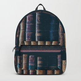 The Vintage Bookshelf (Color) Backpack