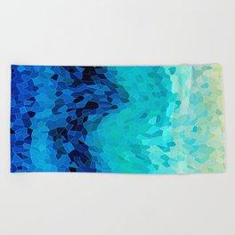 INVITE TO BLUE Beach Towel