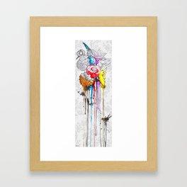 birth of a color Framed Art Print