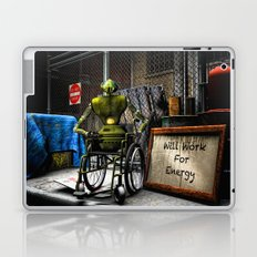 Will Work For Energy Laptop & iPad Skin