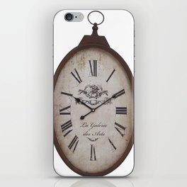 Vintage Clock iPhone Skin