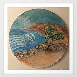 Northern Coast Art Print