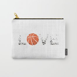 Basketball Love Triko Ball Gift Carry-All Pouch