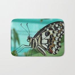 Buttefly Bath Mat