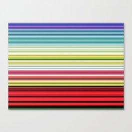 Electric Ecletic Canvas Print
