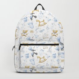 Cute Fashion Baby Boy Backpack