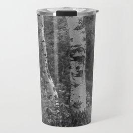 two birches Travel Mug