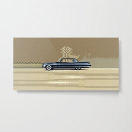 Cadillac Fleetwood Sixty-Special 1961 Metal Print