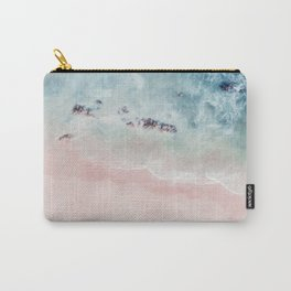 Ocean Pink Blush Carry-All Pouch