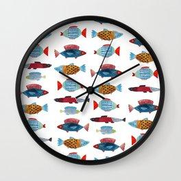Fish Buddies Wall Clock