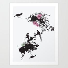 Fridas Garden Art Print