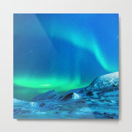 Northern Lights (Aurora Borealis) 3. Metal Print