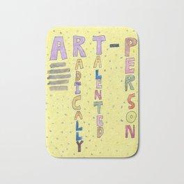 An Art Person Bath Mat