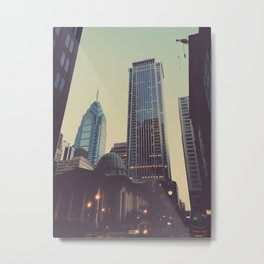 philly Metal Print