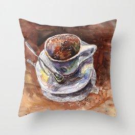 Coffee Time I Throw Pillow