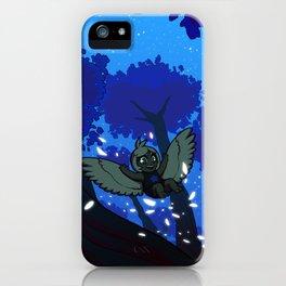 Harp's Twilight Flight iPhone Case