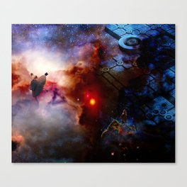 Outer Terrestrial Canvas Print