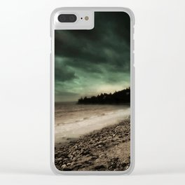 Dawn of Tomorrow Clear iPhone Case