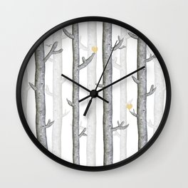 Nature lover trees Wall Clock